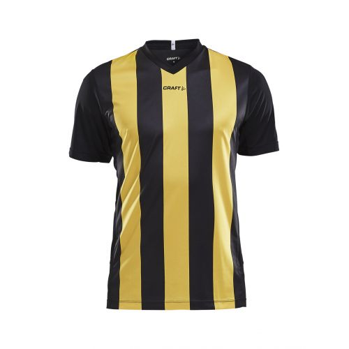 Craft Progress Jersey Stripe - Noir & Jaune