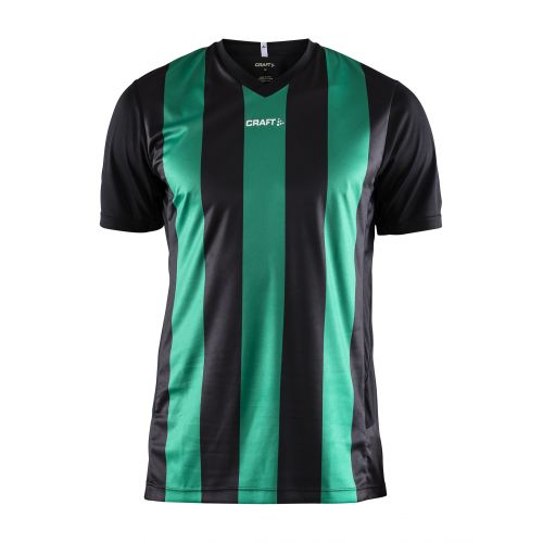 Craft Progress Jersey Stripe - Noir & Vert