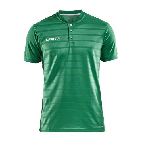 Craft Pro Control Button Jersey - Vert & Blanc