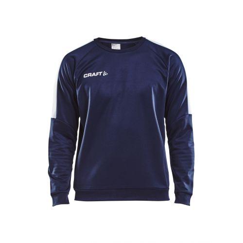 Craft Progress R-Neck Sweather - Marine & Blanc