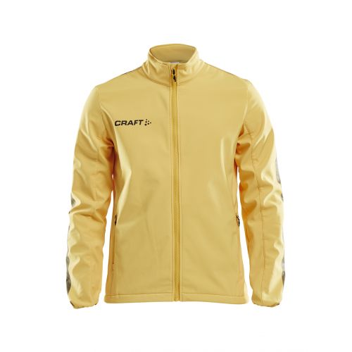 Craft Pro Control Softhell Jacket - Jaune & Noir