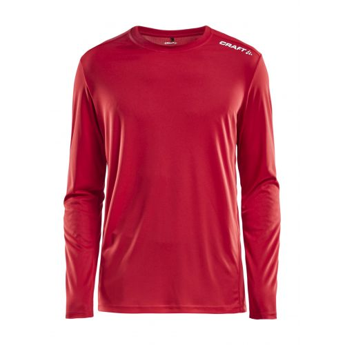 Craft Rush LS Tee - Rouge