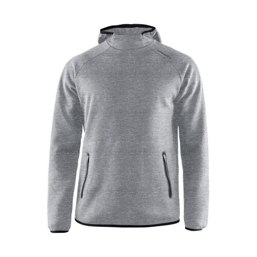 Craft Emotion Hood Sweatshirt - Gris Chiné