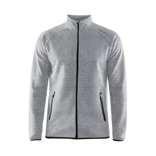 Craft Emotion Full Zip Jacket - Gris Chiné