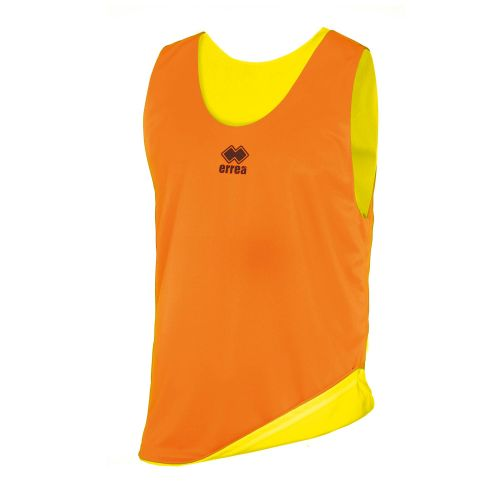 Errea Bib Double - Orange Fluo & Jaune Fluo