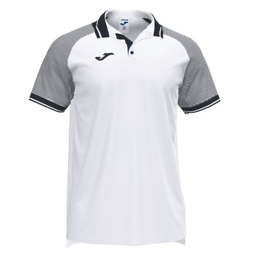 Joma Essential II Polo - Blanc & Noir