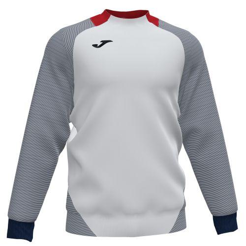 Joma Essential II Sweat - Blanc, Rouge & Marine Foncé