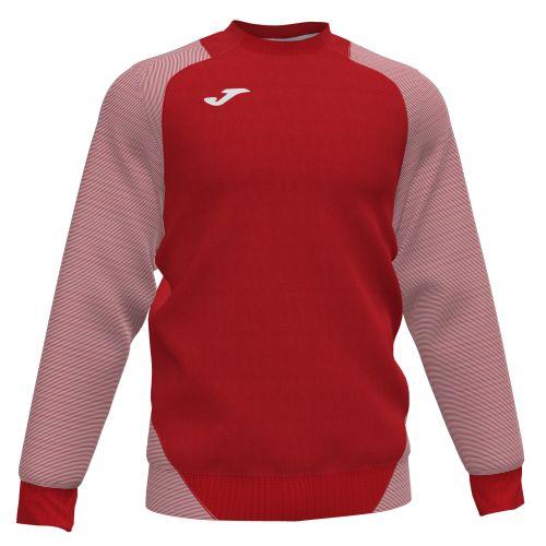 Joma Essential II Sweat - Rouge & Blanc