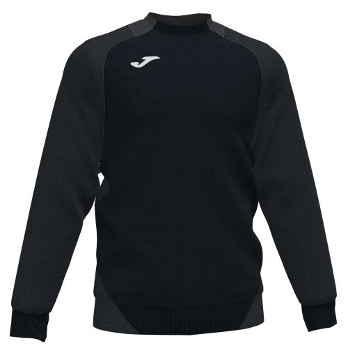 Joma Essential II Sweat - Noir & Anthracite