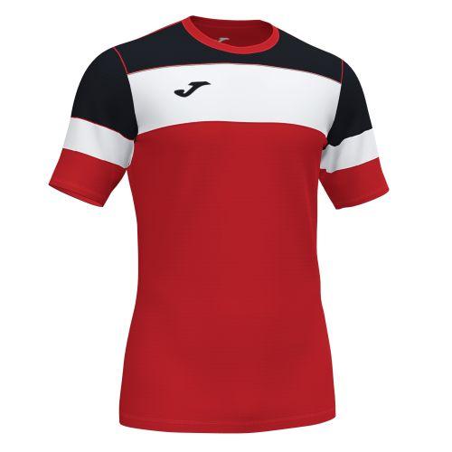 Joma Crew IV T-Shirt - Rouge, Noir & Blanc