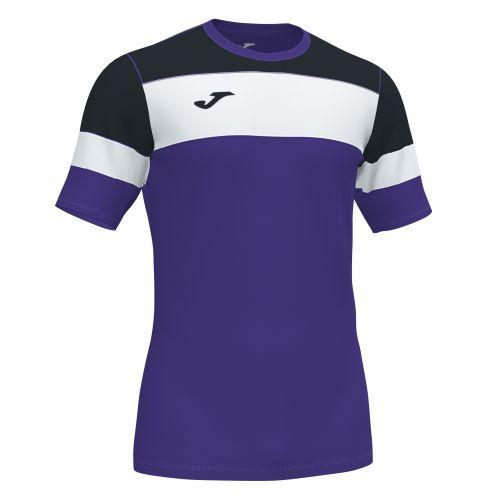 Joma Crew IV T-Shirt - Violet, Noir & Blanc