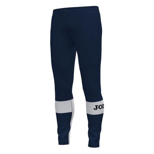 Joma Crew IV Pantalon - Marine Foncé & Blanc