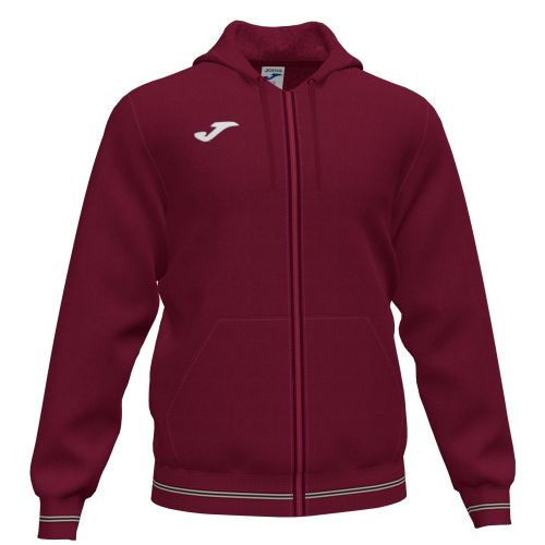Joma Campus III Sweat Zippé - Bourgogne