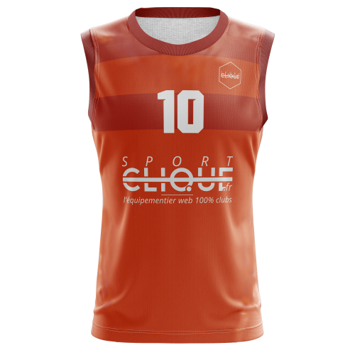 Maillot de basketball - sublimation totale