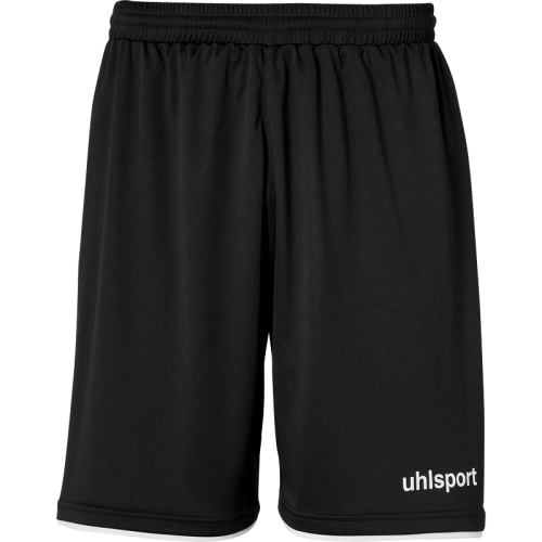 Uhlsport Club Shorts - Noir & Blanc
