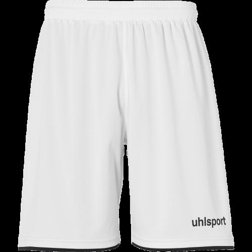Uhlsport Club Shorts - Blanc & Noir