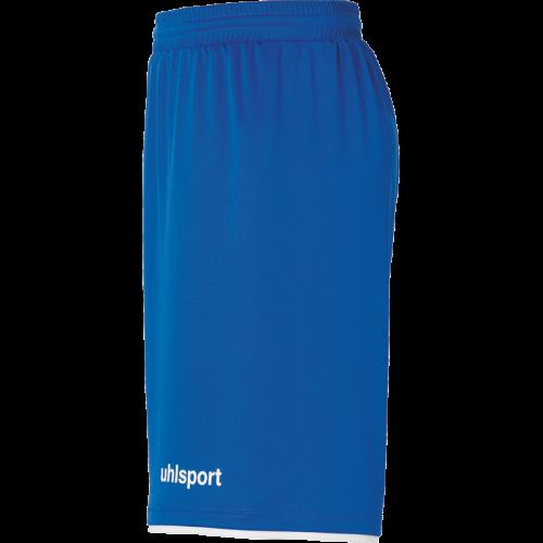 Uhlsport Club Shorts - Azur & Blanc