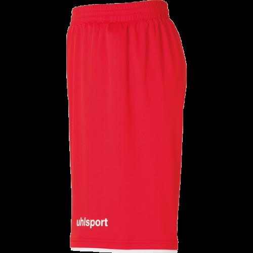 Uhlsport Club Shorts - Rouge & Blanc
