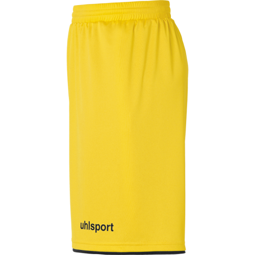 Uhlsport Club Shorts - Jaune Citron & Noir