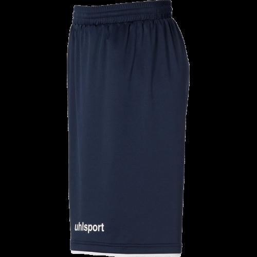Uhlsport Club Shorts - Marine & Blanc