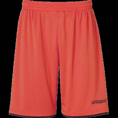 Uhlsport Club Shorts - Dynamic Orange & Noir