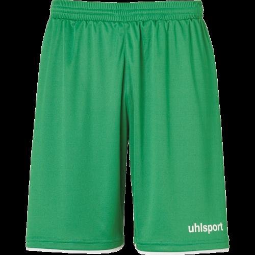 Uhlsport Club Shorts - Vert & Blanc