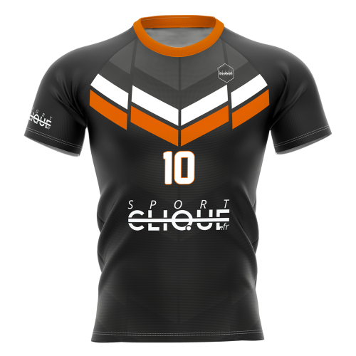 Maillot de rugby - sublimation totale