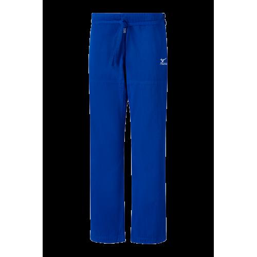 Mizuno Pantalon Shiai Gi - Bleu