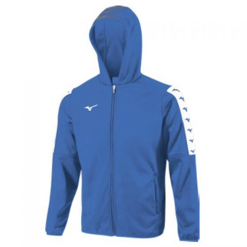 Mizuno Nara Bonded Hooded Jacket - Bleu Royal