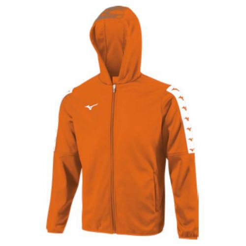 Mizuno Nara Bonded Hooded Jacket - Orange