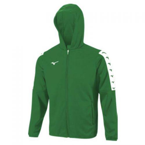 Mizuno Nara Bonded Hooded Jacket - Vert