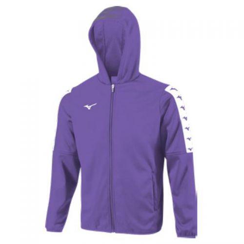 Mizuno Nara Bonded Hooded Jacket - Violet