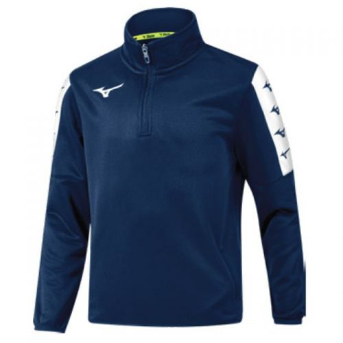 Mizuno Nara Interlock Training Top - Marine