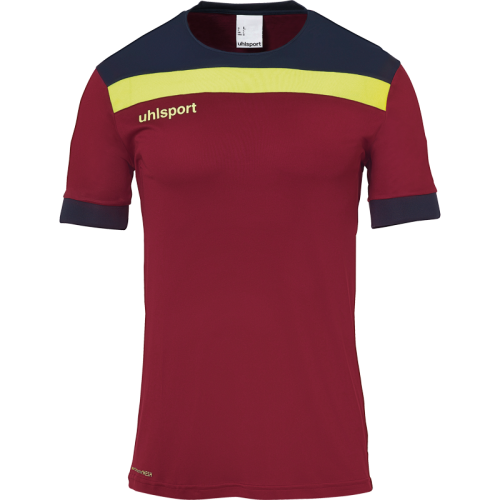 Uhlsport Offense 23 - Bordeaux, Marine & Jaune Fluo
