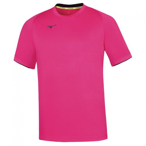 Mizuno Core Short Sleeve Tee - Rose & Marine