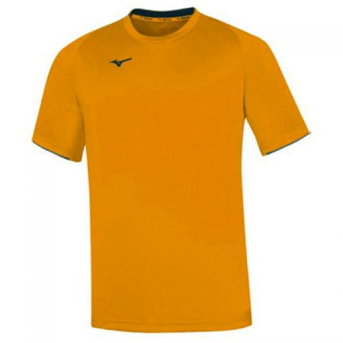 Mizuno Core Short Sleeve Tee - Orange & Noir