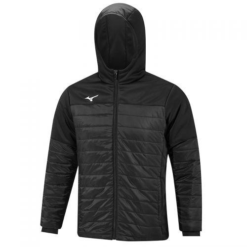 Mizuno Sapporo Hooded Hybrid Jacket - Noir
