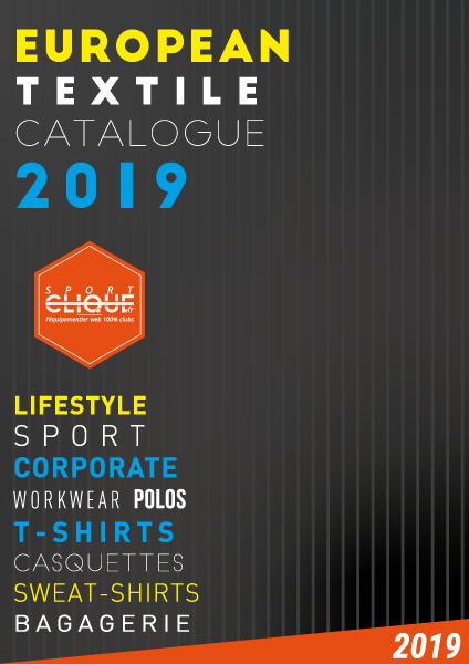 Textile promotionnel - catalogue France 2019